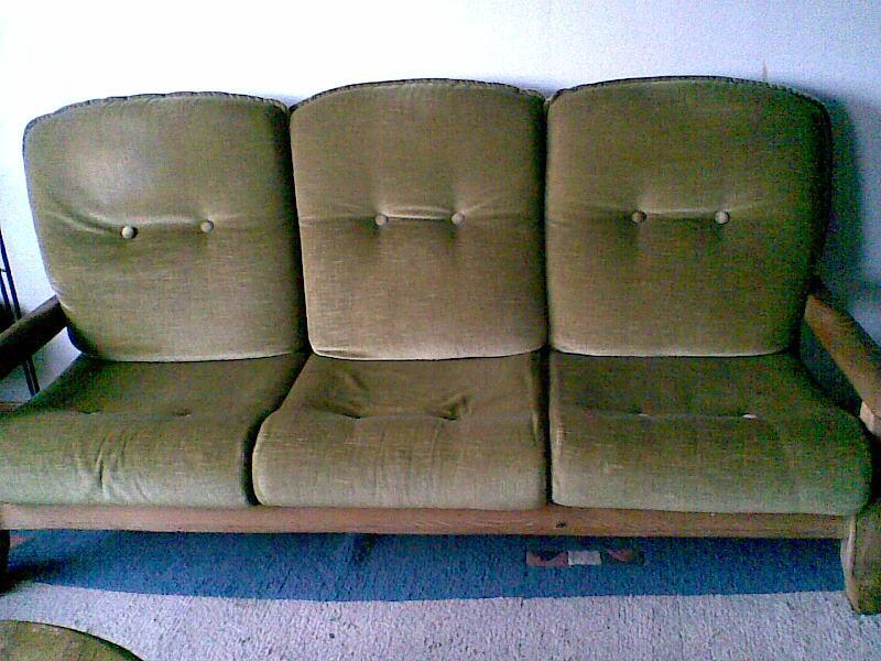 couchgarnitur eiche rustikal gelaugt polster sessel couch. Black Bedroom Furniture Sets. Home Design Ideas