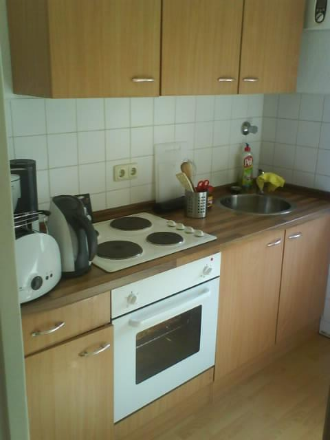 hübsche kleine Küche, neuwertig, günstig, für selbstabholer | moebel ...
