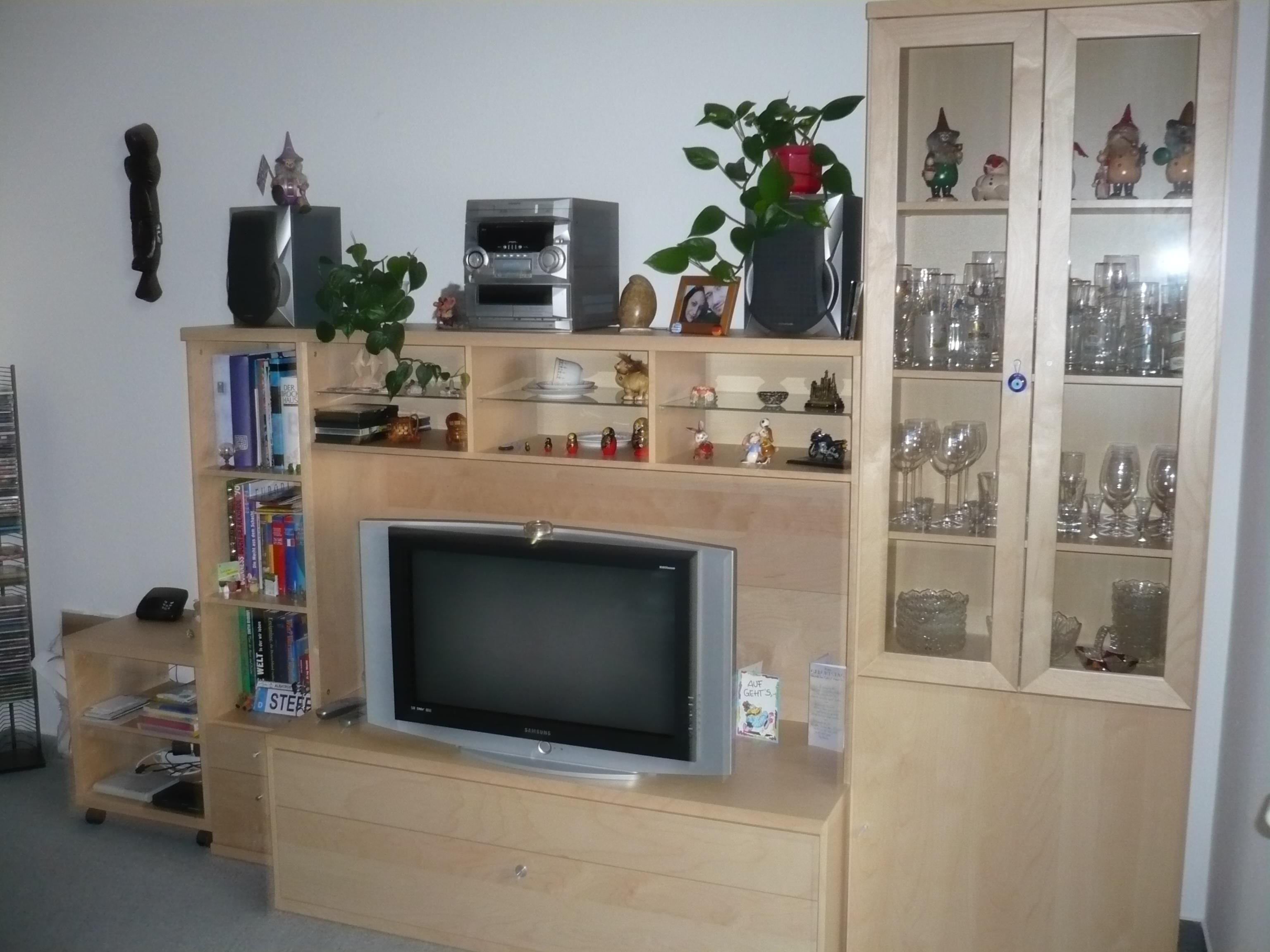 Wohnzimmerschrank Anbauwand Kleinanzeigen  Wohnzimmerschrank